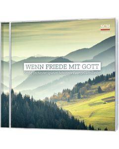 ARTIKELNUMMER: 097461000  ISBN/EAN: 4010276030089 Wenn Friede mit Gott Große Orchester spielen bekannte Evangeliumslieder CB-Buchshop 3D-Cover