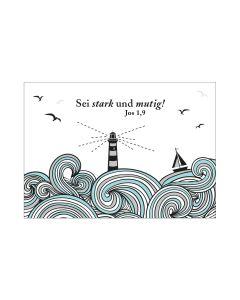 """Postkarte """"Sei stark"""""""