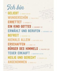 Poster: Identität - A3