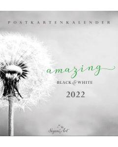 "Black&White ""Amazing"" 2022 - Postkartenkalender"