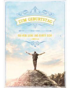 """Postkartenserie """"Zum Geburtstag"""" 10 Stück"""