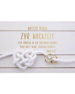 Faltkarte - Hochzeit Röm.12,12