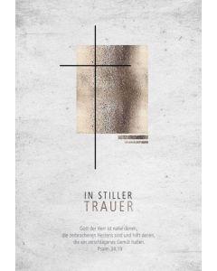 Faltkarte - Trauer Ps.34,19