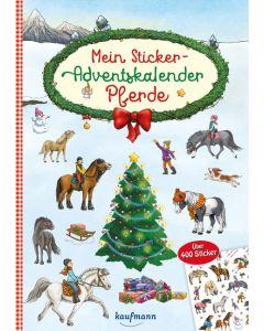 Mein Sticker - Adventskalender Pferde, Klara Kamlah, Julia Gerigk (Illustr.)