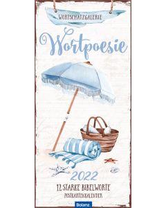 Wortpoesie 2022 - Postkartenkalender