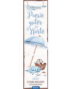 Poesie guter Worte 2022 - Lesezeichenkalender