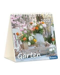 Gärten 2022 - Tischkalender