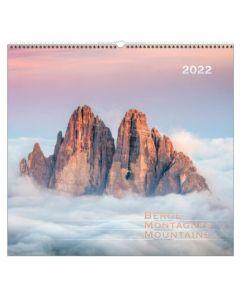 Berge 2022 - Wandkalender
