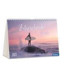 Zeitgeschenke für dich 2022 - Postkartenkalender