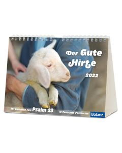 Der gute Hirte 2022 - Postkartenkalender
