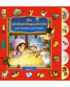 Die Weihnachtsgeschichte zum Suchen und Finden