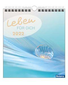 Leben für Dich 2022 - Deutsch Postkartenkalender