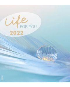 Leben für Dich 2022 - Englisch Postkartenkalender