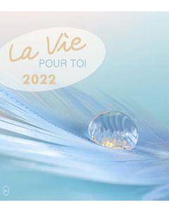 Leben für Dich 2022 - Französisch Postkartenkalender