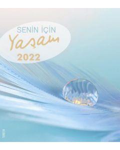 Leben für Dich 2022 - Türkisch Postkartenkalender