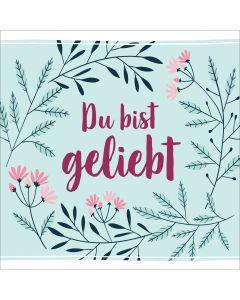 ARTIKELNUMMER: 940044000  ISBN/EAN: 4029856400440 Du bist geliebt Various Artists (Gesang) CB-Buchshop Cover