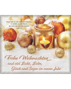 Geschenk-Umschläge: Frohe Weihnachten
