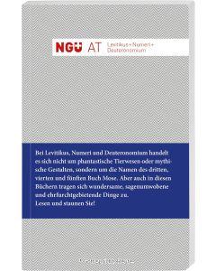 Neue Genfer Übersetzung AT - Levitikus + Nummeri + Deuteronomium
