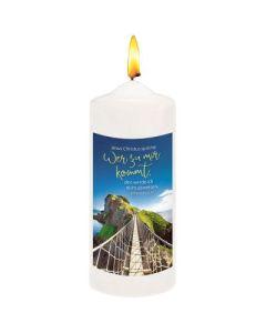 Jahreslosung 2022 - Kerze Large