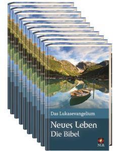 Verteilpaket Lukas-Evangelium Bergsee Neues Leben
