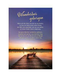 Postkarten: Wunderbar geborgen, 4 Stück