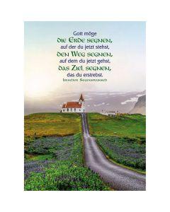 Postkarten: Gott möge die Erde segnen, 4 Stück