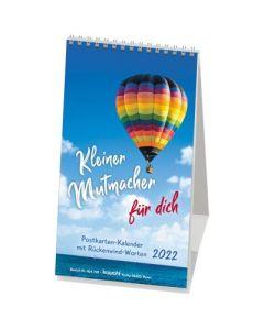 Kleiner Mutmacher für dich 2022 - Postkartenkalender