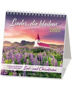 Lieder, die bleiben 2022 - Postkartenkalender