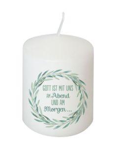Kerze - Gott ist mit uns