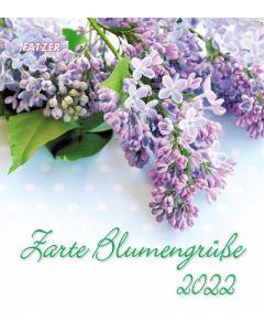 Zarte Blumengrüße 2022 - Wandkalender