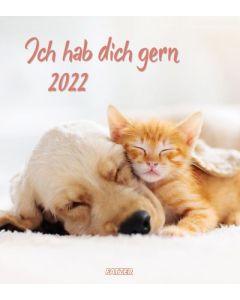 Ich hab dich gern 2022 - Wandkalender