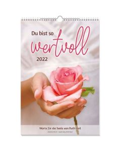Du bist so wertvoll 2022 - Wandkalender