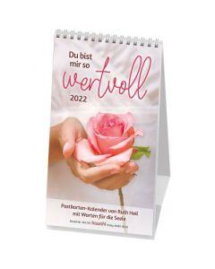 Du bist mir so wertvoll 2022 - Postkartenkalender