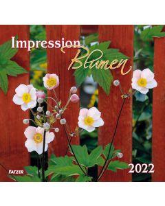 Impression Blumen 2022 - Wandkalender