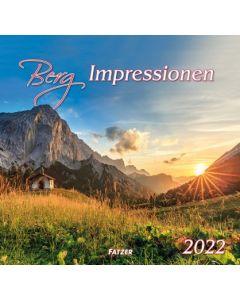 Berg-Impressionen 2022 - Wandkalender