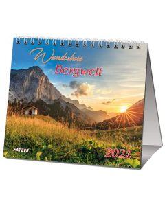 Wunderbare Bergwelt 2022 - Tischkalender