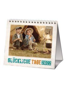 Glückliche Tage 2022 - Tischkalender