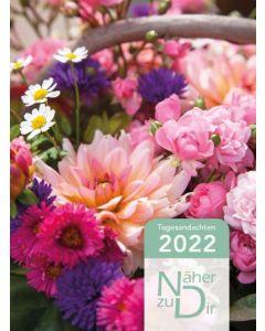 Näher zu Dir 2022 - Buchkalender Motiv Blumenkorb