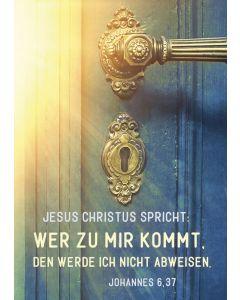 """Jahreslosung 2022 - Postkarten """"Tür"""" 12 Stück"""