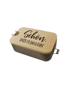 """Lunchbox """"Schön, dass es dich gibt"""""""