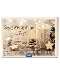 """Postkartenbox """"Segenswünsche zum Fest"""""""