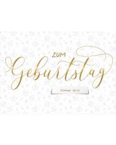 """Postkartenserie """"Zum Geburtstag"""" 10 Stk."""
