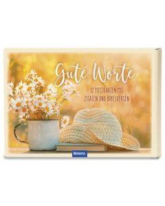 "Postkartenbox ""Gute Worte"""