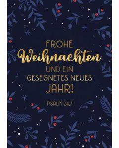 """Faltkarte """"Frohe Weihnachten"""""""