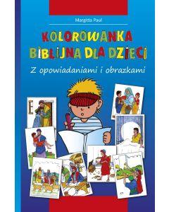 Kinder-Mal-Bibel - Polnisch