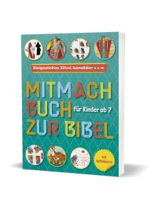 Mitmachbuch zur Bibel - Für Kinder ab 7 Jahren | CB-Buchshop