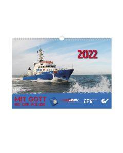 Mit Gott bei der Polizei Kalender 2022