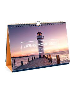 Life is more 2022 - PanoramaTischkalender (Deckblatt)