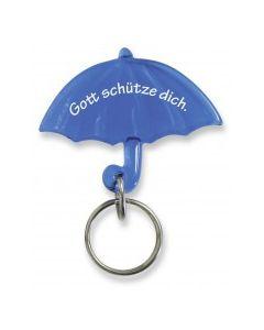 """Schlüsselanhänger """"Schirm"""" - blau"""