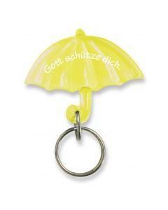 """Schlüsselanhänger """"Schirm"""" - gelb"""
